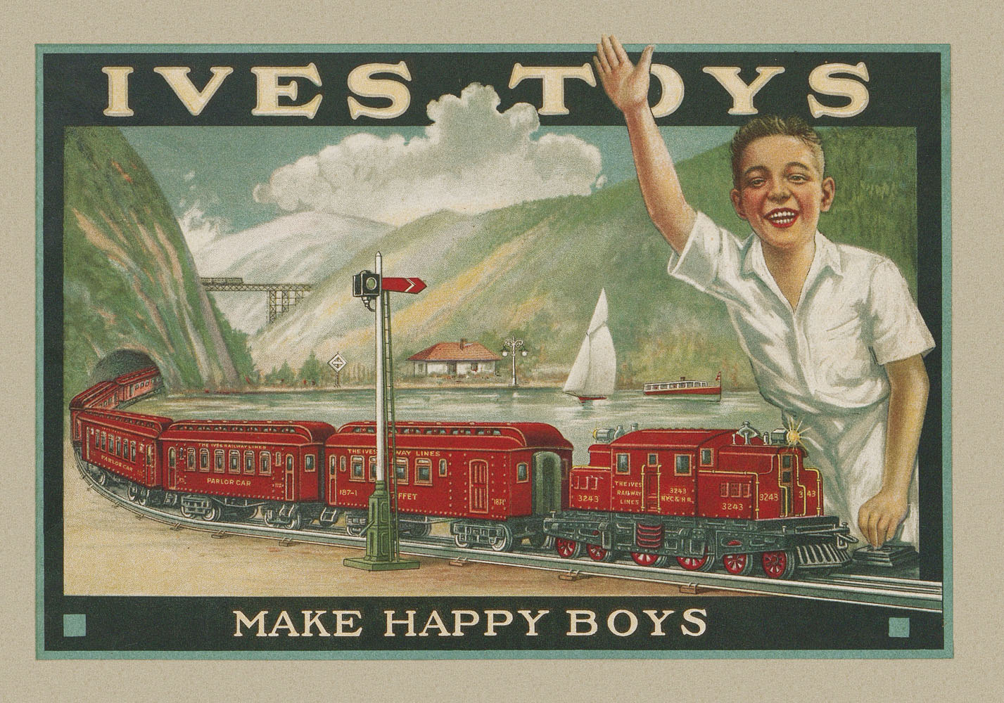 Ives Toys 1924