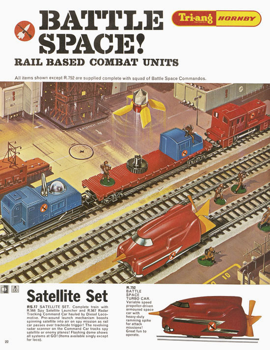 Tri-ang Hornby Minic catalogue 1968