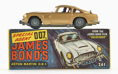 Corgi Toys James Bond Aston Martin