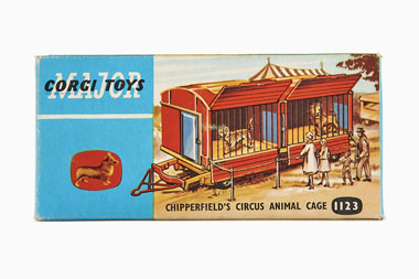 Corgi Toys 1123 Chipperfields Circus Animal Cage OVP