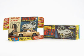 Corgi Toys 261 James Bond's Aston Martin D.B.5 OVP