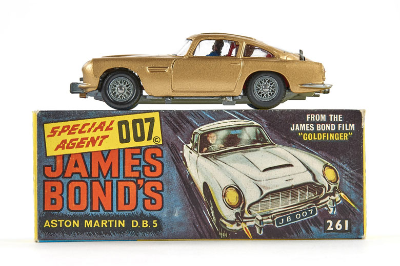 Corgi Toys 261 James Bond's Aston Martin D.B.5