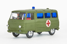 Corgi Toys 354 Commer Military Ambulance