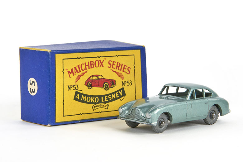 Matchbox 53 Aston Martin