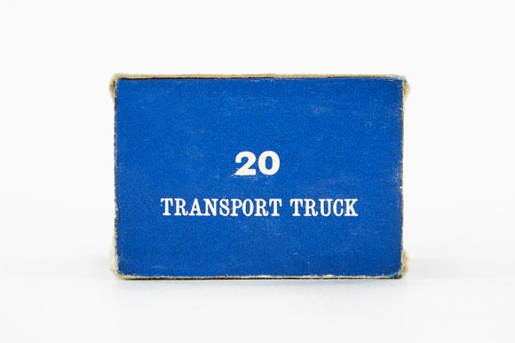 Matchbox 20 ERF 68G Transport Truck OVP