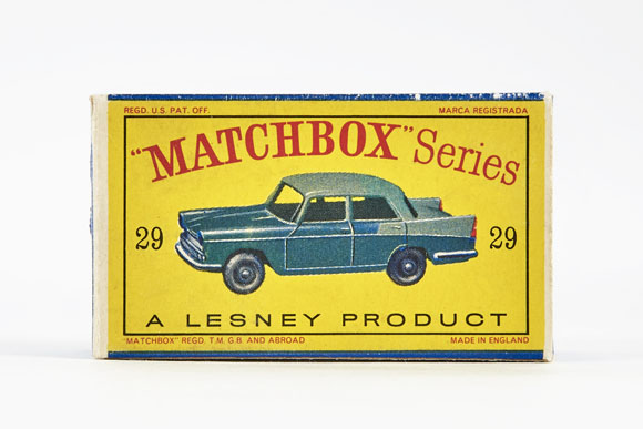 Matchbox 29 Austin A 55 Cambridge OVP