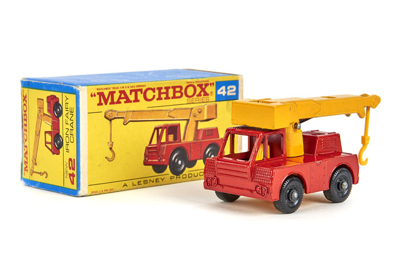 Matchbox 42 Iron Fairy Crane