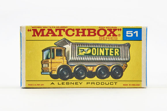 Matchbox 51 8 Wheel Tipper OVP