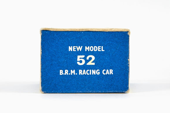 Matchbox 52 BRM Racing Car OVP