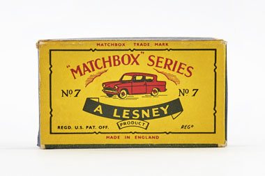 Matchbox 7 Ford Anglia OVP