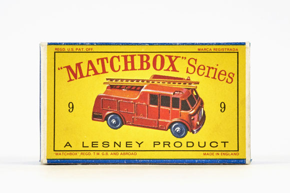 Matchbox 9 Merryweather Marquis Series III Fire Engine OVP
