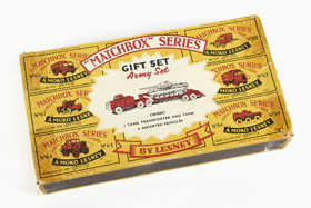 Matchbox Giftset G5 Army Set